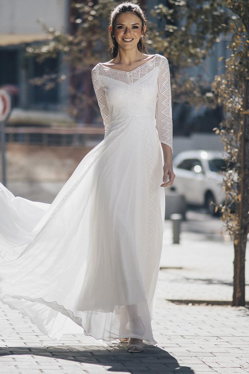 הדס מנור - מעצבת שמלות כלה